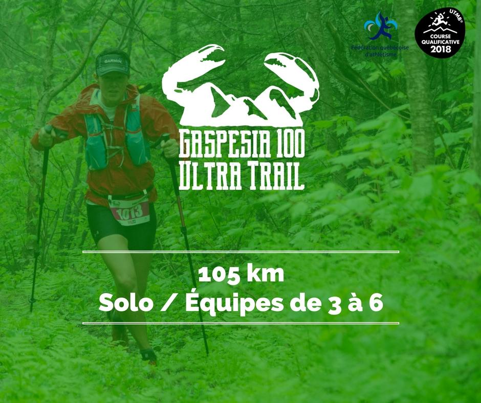 Ultra Trail Gaspesia 100 - 105 km