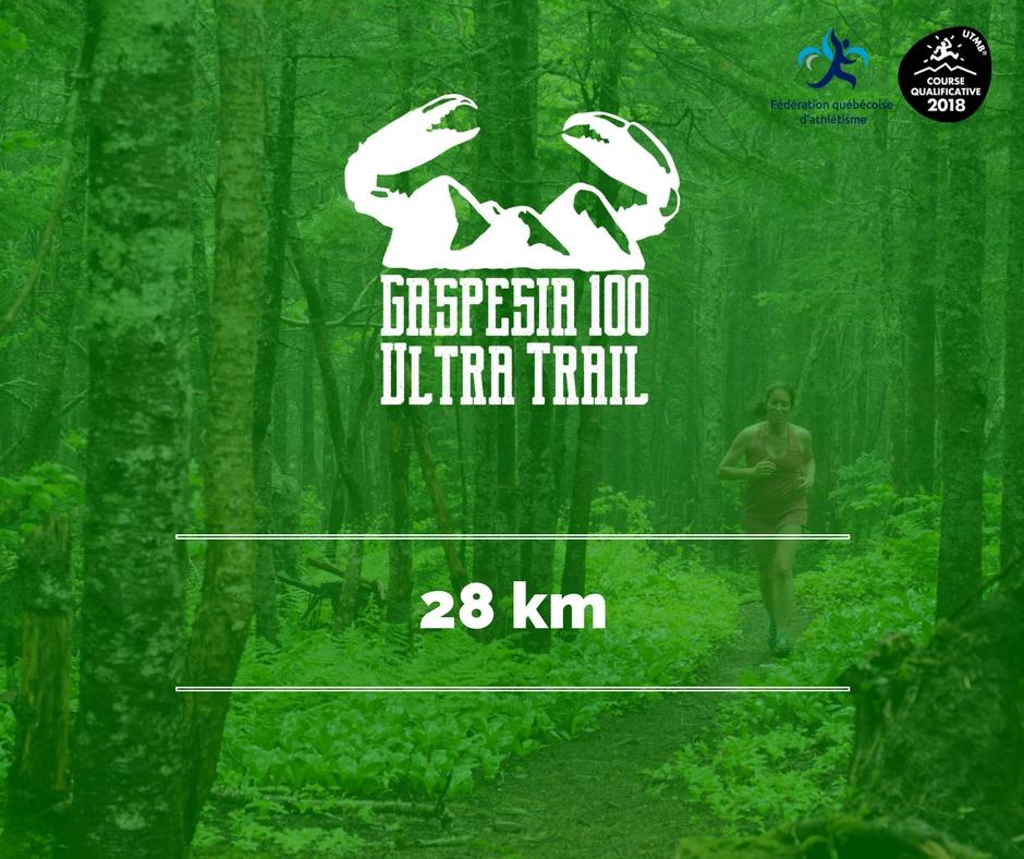 Ultra Trail Gaspesia 100 - 28 km