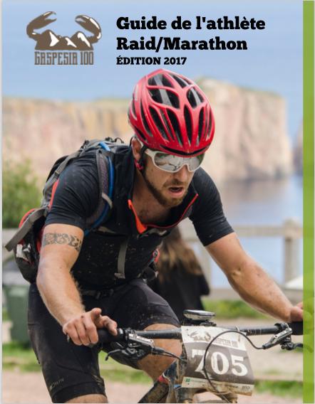 Gaspesia 100 Guide de l'athlète 2017