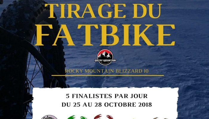 Tirage Fatbike 2017