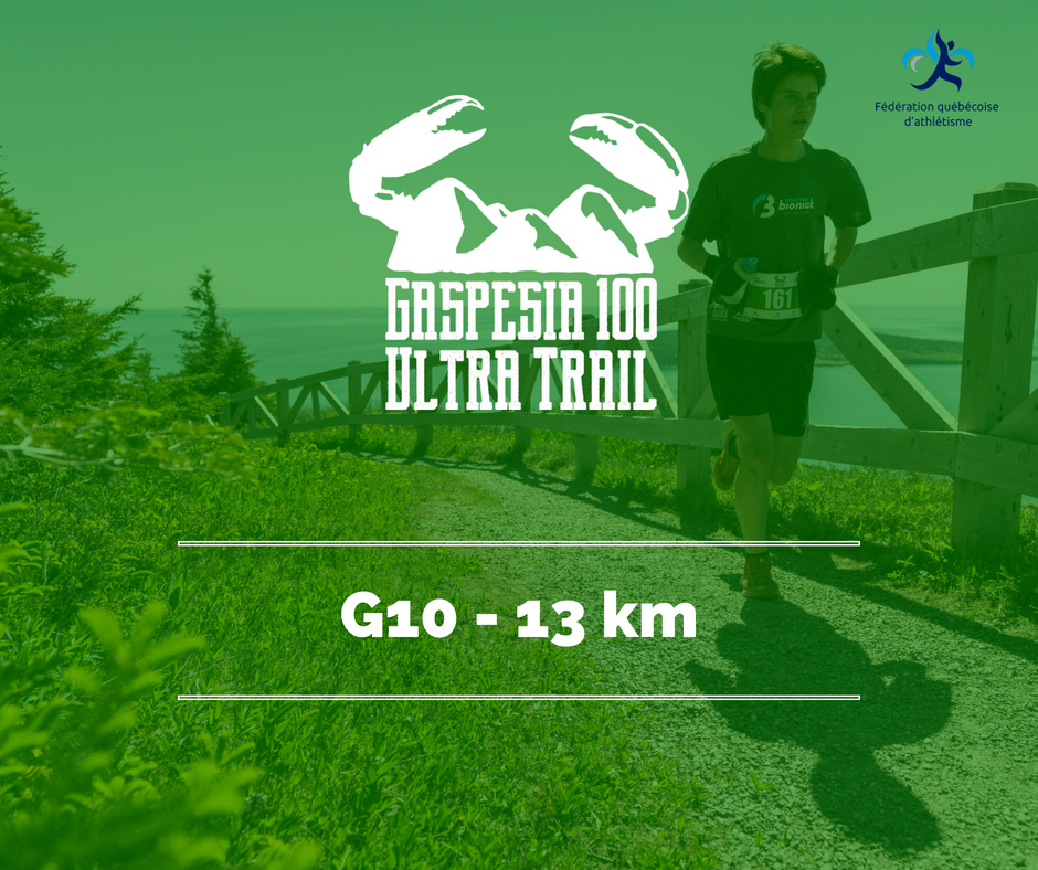 Ultra Trail Gaspesia 100 G10
