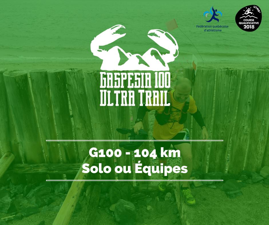 Ultra Trail Gaspesia 100 G100 fr