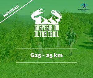 Ultra Trail Gaspesia G25 fr
