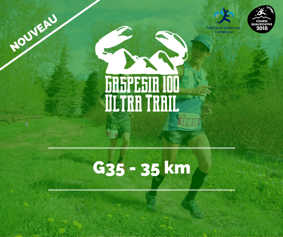Ultra Trail Gaspesia 100 G35 fr