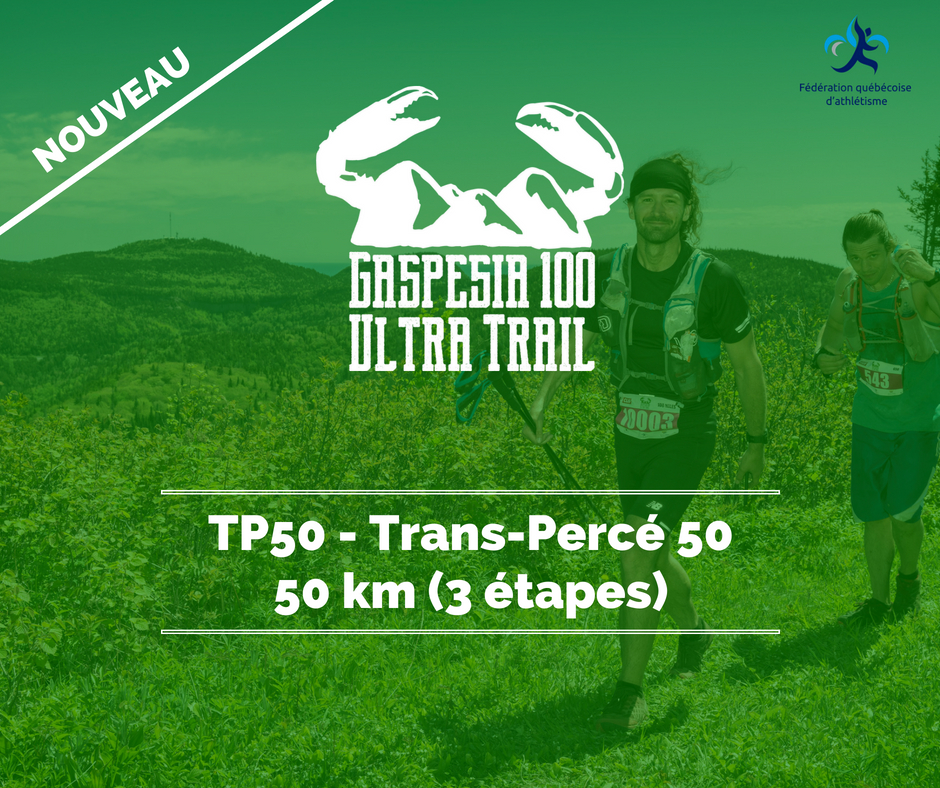 Ultra Trail Gaspesia TP50 fr
