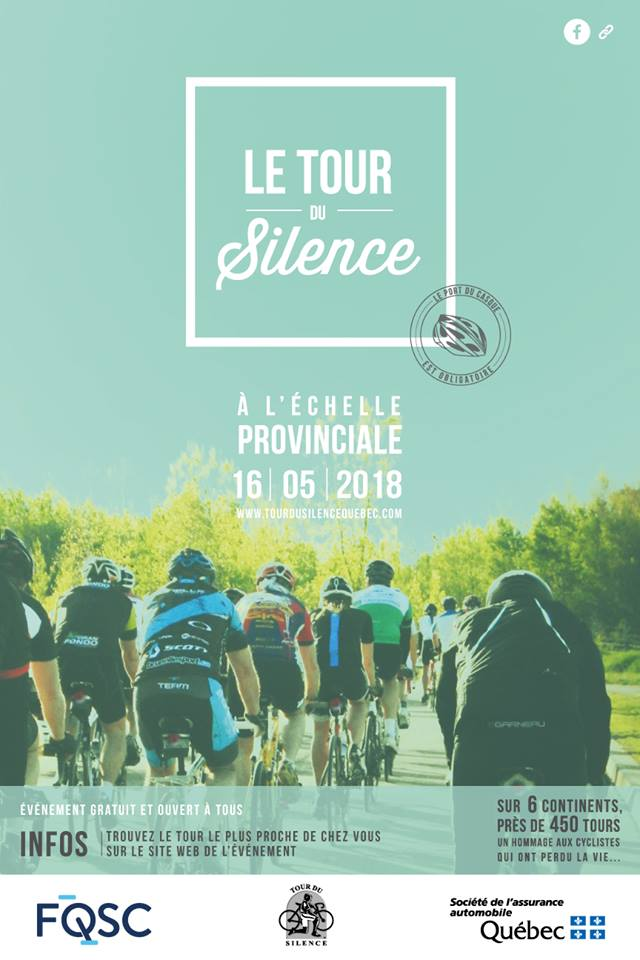 Tour du Silence 2018 Événements Gaspesia