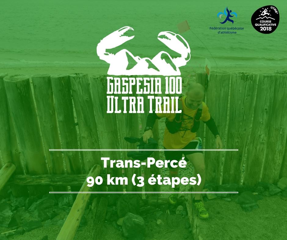 Ultra Trail Gaspesia 100 - Trans-Percé 90 km