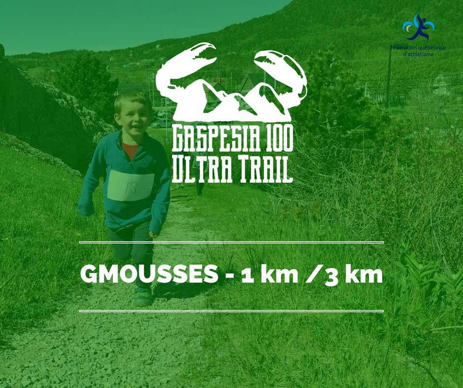Ultra Trail Gaspesia GMousses kids