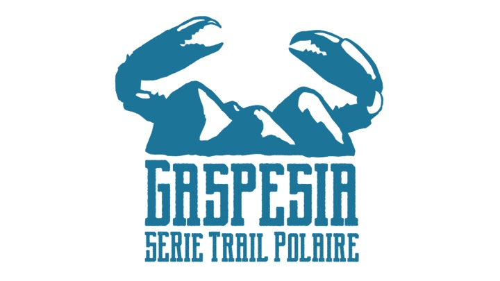 série trail polaire gaspesia logo